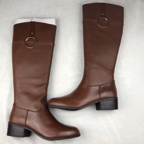 3b3101b20f12 🆕Alfani Step n Flex Riding Boots Cognac